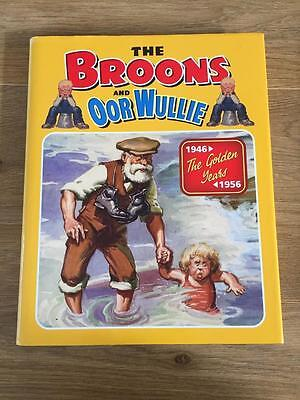 The Broons And Oor Wullie Hardback Annual - The Golden Years 1946-1956