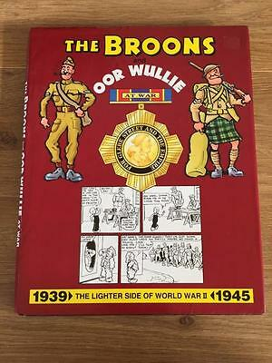 The Broons And Oor Wullie Hardback Annual - The Lighter Side Of World War Ii