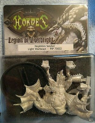 Hordes Legion of Everblight Nephilim Soldier Light Warbeast PIP73022 New