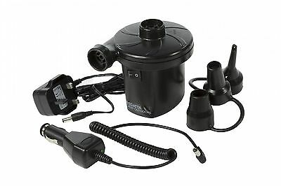 AC/DC Rechargeable Electric Pump with UK Plug - Regatta