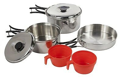 Compact Steel Cook Set - Regatta