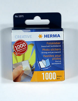 Herma Photo Stickers 17mm x12mm 1000 pieces H1071