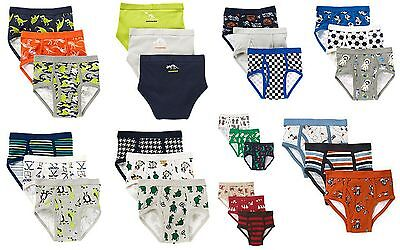 NWT Gymboree 3-Pack Boys Brief Briefs Underwear Hockey Dinosaur Cars Turtle