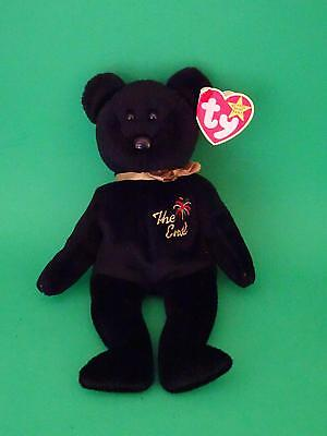 "Ty Original Beanie Baby 1999 ""THE END"" Last Baby Produced  w/ Rare Flat Tag  EUC"