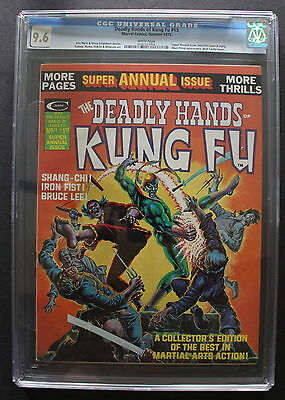 Deadly Hands of Kung Fu 15 IRON FIST 1975 SHANG CHI Cardy Starlin Gulacy CGC 9.6