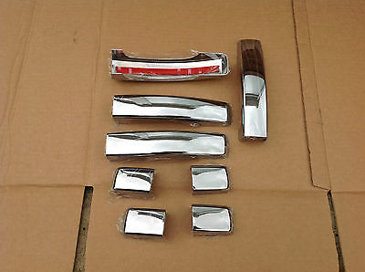 Range Rover Sport Discovery 3 Freelander 2 Chrome Door Handle Cover Set 8 Pcs