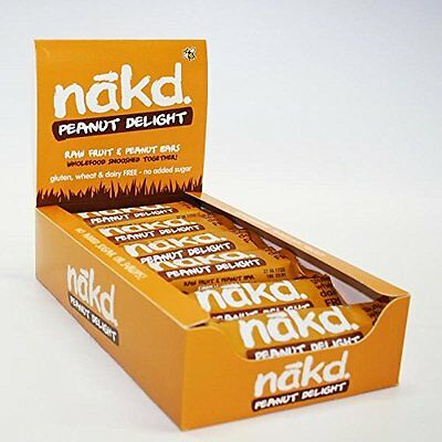 NAKD RAW FRUIT  & NUT BARS PICK YOUR FLAVOUR (18 Bars or 22 Bars in Mixed Case)