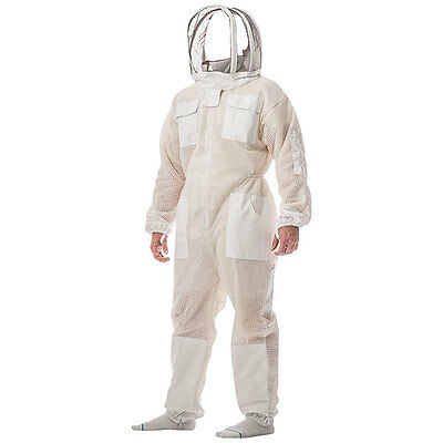 Beekeeping Bee Suit Ventilated 3 Layer Mesh Ultra Cool Breeze