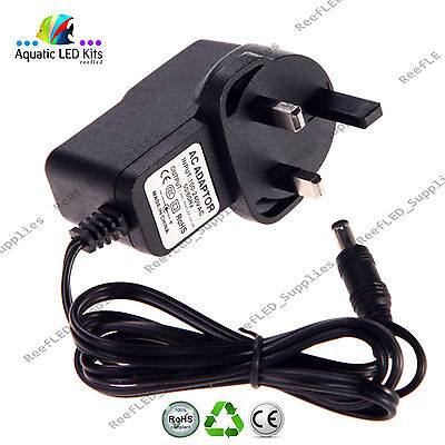 Replacement 8V AC-DC 500mA 0.5A Adaptor Power Supply Plug DCC080050 UK