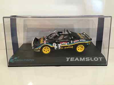 Team Slot 11515 Lancia Stratos Le Point RTR New Limited