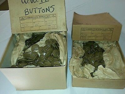 WW2 Button Set Original Issue NOS Set of 10