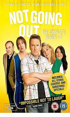 NOT GOING OUT COMPLETE SERIES 1 2 3 4 5 6 7 Box Set DVD Collection Brand New UK