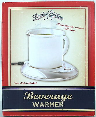 NIB Limited Edition Beverage Warmer for Coffee, Tea, Soup, Cocoa brand new