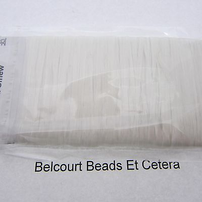 White  Sinew 20 Yards (60') Dream Catchers Leather Bead Crafts 70lb Test