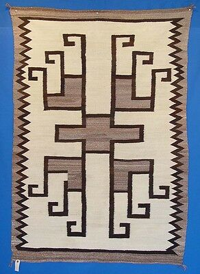 Navajo Indian JB Moore Crystal Natural with Superior Quality Churro-Merrino Wool