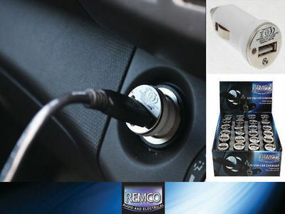 2 Car 12v USB Charger Slim Style Charge Your Phone Or Any USB Computer Device