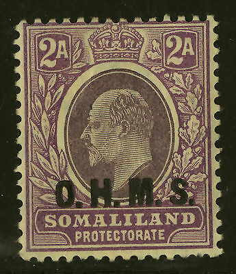 Somaliland Protectorate   1905  Scott # O16   Mint Faint Hinge Remnant