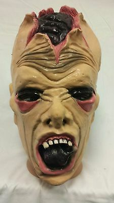 zombie Halloween Latex full head Mask Adult Costume Fancy Dress Party