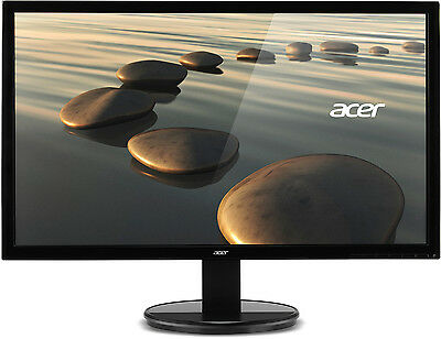 "Acer K272HL 27"" LED LCD Wide Computer Monitor Full HD 1080P HDMI DVI VGA Tilt"