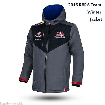 New Genuine 2016 Red Bull Racing Team Winter Jacket (select your sizes)