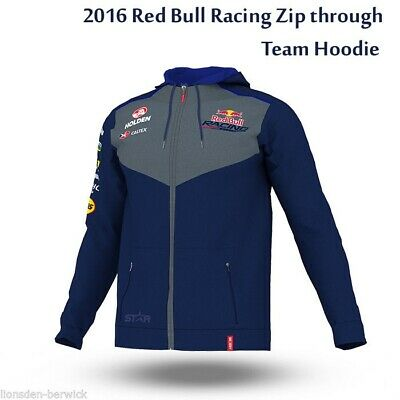 New Genuine 2016 Red Bull Racing Team Hoodie (select your size)