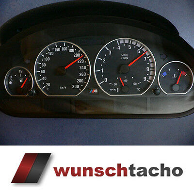 speedometer speedometer dial for BMW E46 Petrol M3 Scaling 300 Kmh