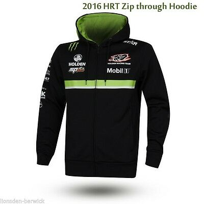 New Genuine 2016 Holden Racing Team zip through Team Hoodie (select your size)