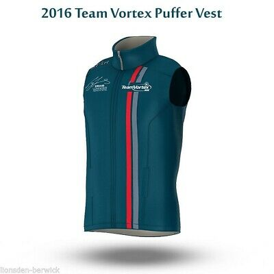 New Genuine Official 2016 Team Vortex Puffer Vest (select your size)