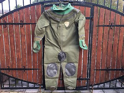 Soviet Russian diving suit for 3-bolt diving helmet, Not Used.