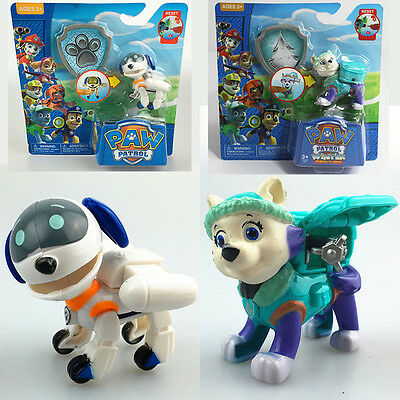 Cute paw patrol action figure doll racer car set kids children baby