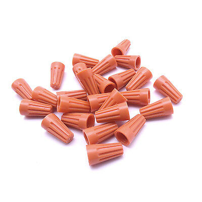 200 pc Orange P1 Screw On Nuts Standard Type Twist on Barrel AWG Wire Connectors