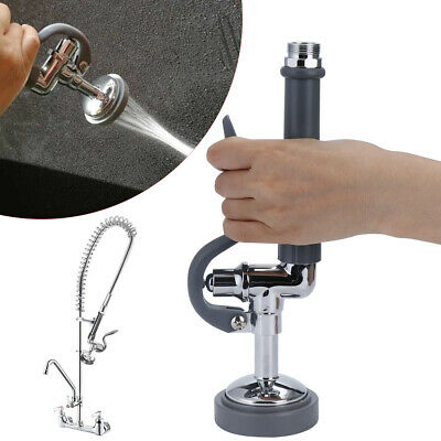 Kitchen Pre-Rinse Spray Head Sprayer Faucet Tap Commercial Restaurant With Hose