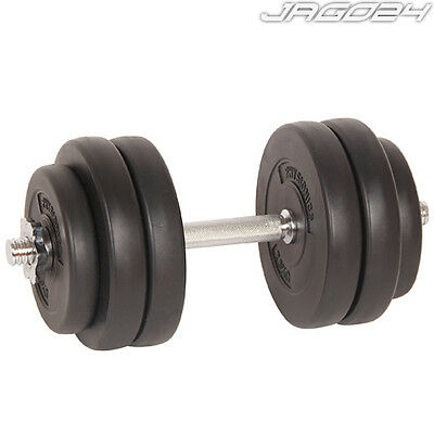One 15kg Dumbbell Set Weight Lifting Training Home Gym Fitness Exercise Biceps