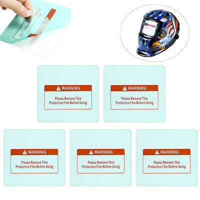 5 pcs Clear Welding Cover Lens 115x89x0.8mm for Welding Helmet Protective Gear