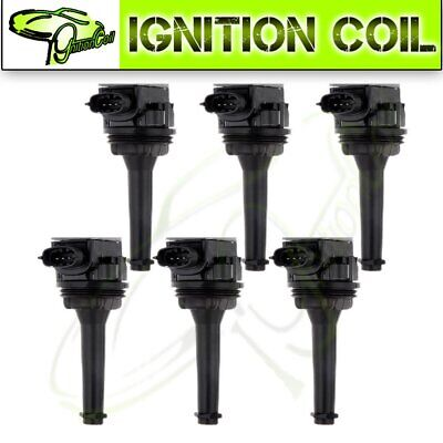 pack of 6 Ignition coil Coils For Volvo C70 S60 S70 S80 V70 XC70 XC90 UF341