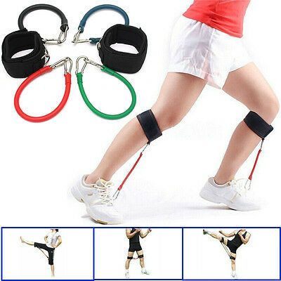 Bande élastique Resistance Formation Tube Coup Exercice Jambe Cuisse Yoga boxe