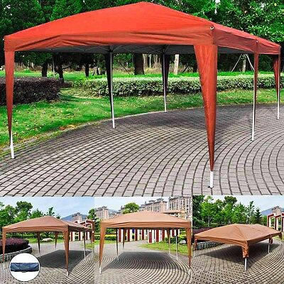 3Mx6M Pop Up Gazebo Portable Folding Outdoor Party Wedding Tent Marquee w/Bag