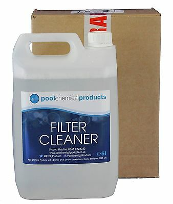 Filter Cleaner 10L Swimming Pool Spa Hot Tub