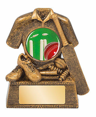 Cricket Trophy 80mm FREE Engraving 14064A