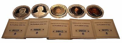Selection of Presidents of The United States Coins