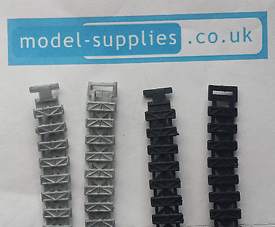Dinky 353 SHADO 2 Reproduction Pair of Rubber Tracks in Black or Silver