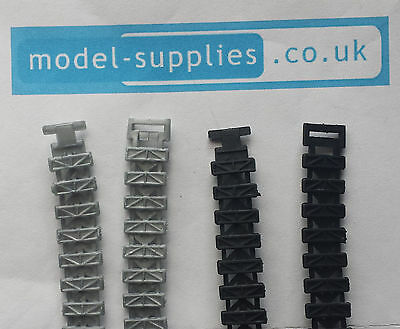 Dinky 353 Shado 2 Pair of Reproduction Rubber Tracks in Black or Silver