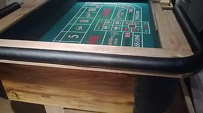 one man fun casino craps table (7ft approx)