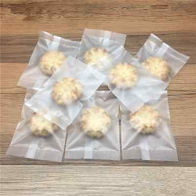 Matte Clear Biscuit Candy Plastic Packaging Bags Baking Pack Pouches