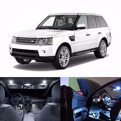 Landrover Sport 2005-2013 Interior light LED upgrade kit for Map, Dome & Cargo