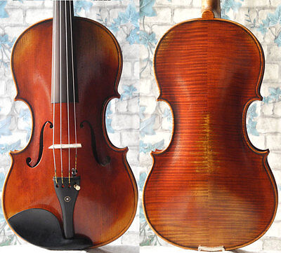 "15.5"" Professional vintage handmade Viola, antique varnish, deep tone"