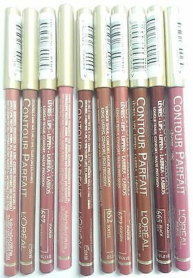 L'Oreal Contour Parfait Lip Pencil- Available in 10 Shades