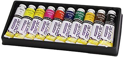 Daler Rowney Graduate Acrylic Introduction Selection Set - 10 x 38ml