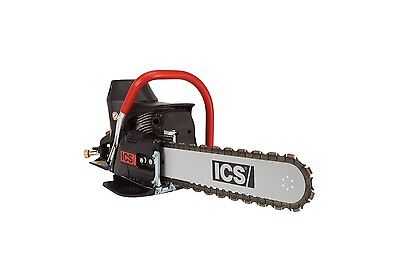 "NEW ICS 576153 680ES 14"" CONCRETE CHAINSAW with 14"" GUIDEBAR and TWINMAX CHAIN"
