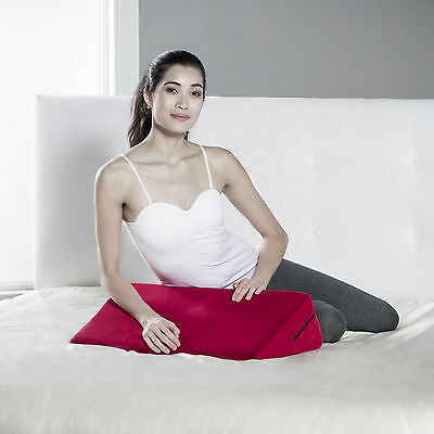 Liberator Wedge Intimate Positioning & Massage Pillow - Red Microfiber